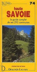 Villes et villages de France t.74 ; Haute Savoie - Couverture - Format classique