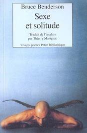Sexe Et Solitude - Intérieur - Format classique