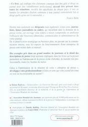 Vademecum De La Presse Ecrite - 4ème de couverture - Format classique