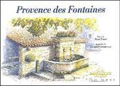 Provence des fontaines - Couverture - Format classique