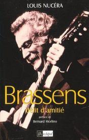 Brassens, delit d'amitie - Intérieur - Format classique
