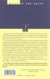 Ex-Libris - 4ème de couverture - Format classique