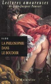 La philosophie dans le boudoir - Intérieur - Format classique