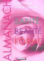 Almanach Sante Beaute Forme - Intérieur - Format classique