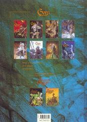 Gorn t.7 ; la chute de l'ogre - 4ème de couverture - Format classique