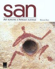 San art rupestre afrique australe - Intérieur - Format classique