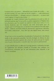 Words Sciences De La Sante - 4ème de couverture - Format classique