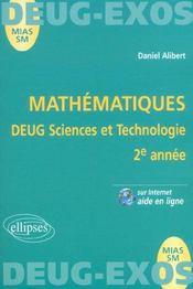 Mathématiques ; DEUG sciences et technologie ; 2e année - Intérieur - Format classique