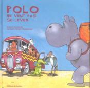 Polo L'Hippo Ne Veut Pas Se Lever - Couverture - Format classique