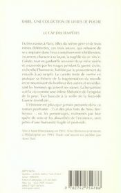 Le Cap Des Tempetes - 4ème de couverture - Format classique
