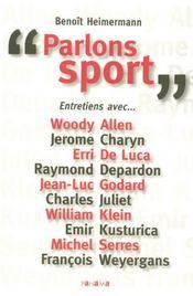 Parlons sport - Intérieur - Format classique