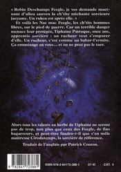Un Chapeau De Ciel ; Un Roman Du Disque-Monde - 4ème de couverture - Format classique