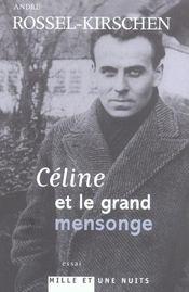 Celine Et Le Grand Mensonge - Intérieur - Format classique