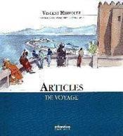 Articles de voyage - Couverture - Format classique