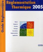 Réglementation thermique 2005 - Intérieur - Format classique