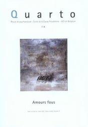 Quarto N 78 : Amours Fous - Intérieur - Format classique