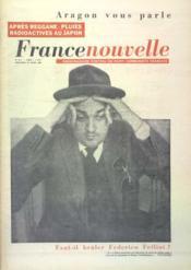 France Nouvelle N°757 du 20/04/1960 - Couverture - Format classique