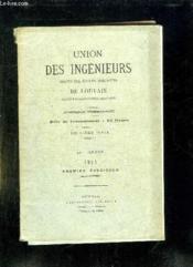 Union Des Ingenieurs Sortis Des Ecoles Speciales De Louvain Deuxieme Serie Tome Ix 1914. - Couverture - Format classique