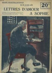 Lettres D'Amour A Sophie - Couverture - Format classique