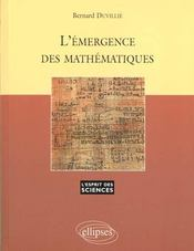 L'Emergence Des Mathematiques No10 - Intérieur - Format classique