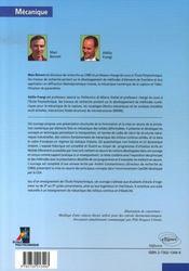 Analyse des solides déformables par la méthode des éléments finis - 4ème de couverture - Format classique