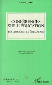 Conférences sur l'éducation ; psychologie et éducation - Intérieur - Format classique