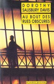 Au Bout Des Rues Obscures - Intérieur - Format classique