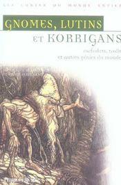Gnomes, lutins et korrigans. - Intérieur - Format classique