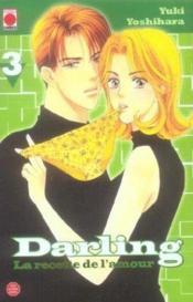 Darling, la recette de l'amour t.3 - Couverture - Format classique
