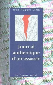 Journal Authentique D'Un Assassin - Intérieur - Format classique