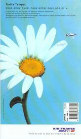 Corse 2000, Le Petit Fute - 4ème de couverture - Format classique