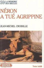 59 : Neron Tue Agrippine - Couverture - Format classique