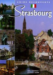 Guide De Strasbourg (Italien) - Couverture - Format classique