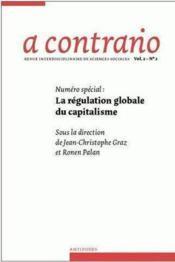 Revue A Contrario N.2/2 ; La Régulation Globale Du Capitalisme - Couverture - Format classique