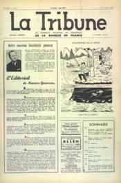 Tribune (La) N°387 du 01/05/1960 - Couverture - Format classique