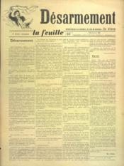 Feuille De Zo D'Axa (La) N°25 - Intérieur - Format classique