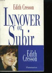 Innover Ou Subir. - Couverture - Format classique