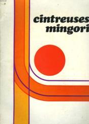 Cintreuses Mingori. Documents Publicitaires. - Couverture - Format classique