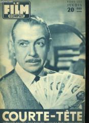 Film Complet N° 636 - Courte-Tete - Couverture - Format classique