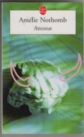 Attentat - Couverture - Format classique