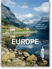 Vente  National Geographie ; Europe ; le tour du monde en 125 ans  - Collectif