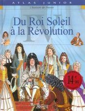 L'histoire de France t.4 ; du roi soleil à la révolution - Intérieur - Format classique