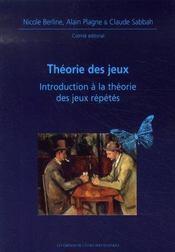 Théorie des jeux ; introduction à la théorie des jeux répétés - Intérieur - Format classique