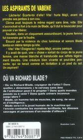 Les Aspirants De Vabene - 4ème de couverture - Format classique