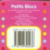 Les formes ; petits blocs - 4ème de couverture - Format classique