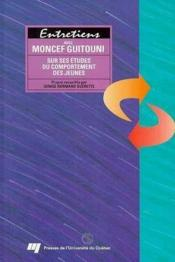 Entretiens Avec Moncef Guitouni - Couverture - Format classique