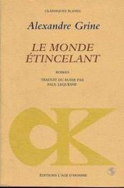 Monde Etincelant (Le) - Couverture - Format classique