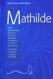Mathilde - Intérieur - Format classique
