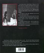 Derriere la camera avec jean cocteau - 4ème de couverture - Format classique