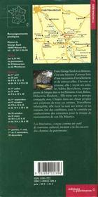 La maison de george sand a nohant - 4ème de couverture - Format classique
